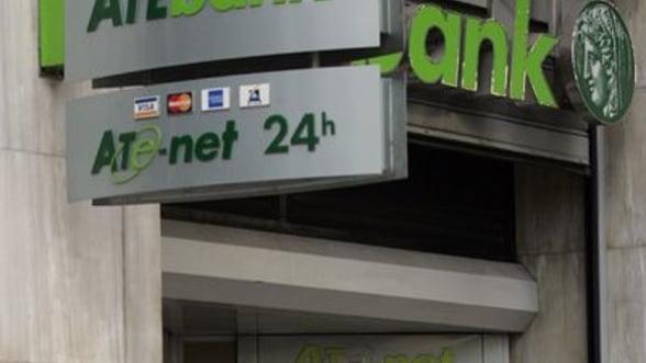 ATE Bank Romania s-a imprumutat de 24 mil. euro de la banca-mama