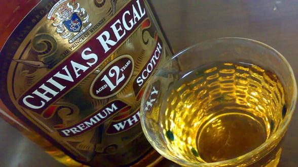 Accident la o fabrica Chivas: 18.000 de litri de whisky s-au scurs in canalizare