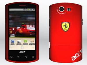 Acer si Ferrari au lansat un smartphone