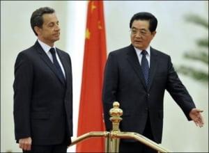 Acorduri de 16 miliarde euro intre Franta si China, pentru Airbus, Areva, Total si Alcatel-Lucent