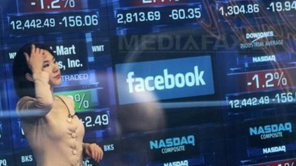 Actiunile Facebook au pierdut jumatate din valoare in trei luni