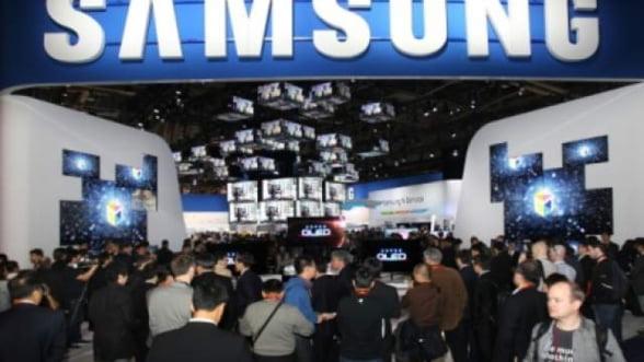 Actiunile Samsung la un nivel record, dupa retrogradarea Sony si Panasonic