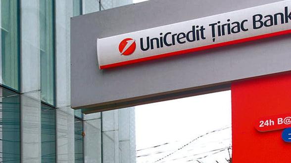Activitatea de factoring a UniCredit Tiriac a ramas la 800 de milioane de euro in 2012