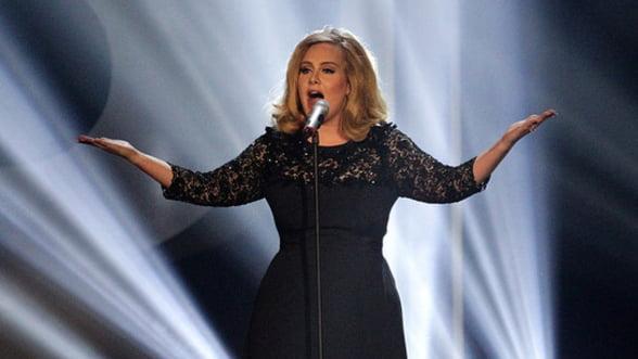 Adele este cel mai bogat tanar muzician din Marea Britanie