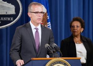 Adjunctul directorului FBI isi da demisia, dupa o disputa cu Trump. Reactia Casei Albe