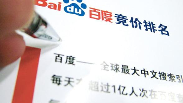 Adversarilor Google le merge bine: Baidu, profit in crestere cu 51%