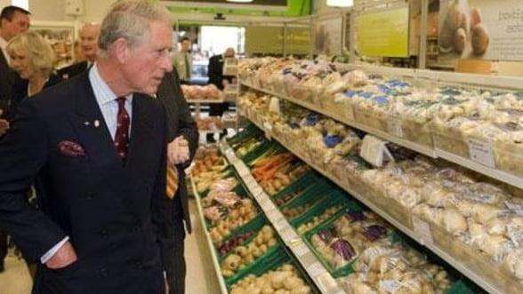 Afacerea printului Charles de legume si fructe eco a dat faliment