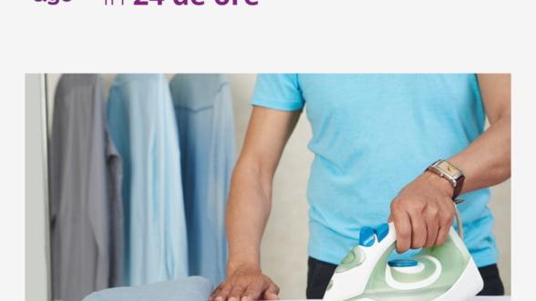 Afaceri cu viziune: A investit 300.000 de euro intr-o aplicatie prin care iti poti trimite hainele la curatatorie
