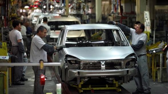 Afacerile Dacia au scazut anul trecut cu 3%