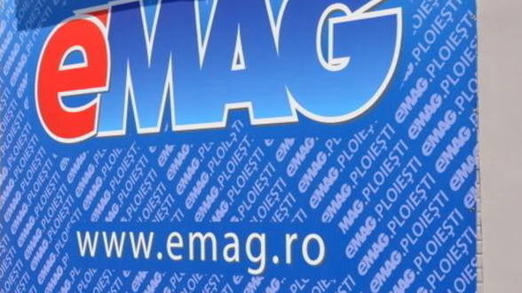 Afacerile eMAG.ro au crescut anul trecut cu 13,8%, la 165 milioane euro