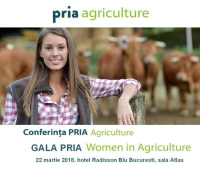 Afla povestile de success ale doamnelor din agricultura, la Gala PRIA Women in Agriculture din 22 martie 2018