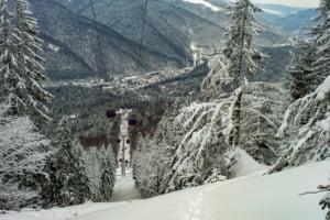 Aglomeratie la munte. Peste 2.600 de oameni au urcat sambata, cu telegondola, la Cota 2000 in Bucegi
