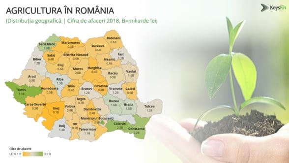 Agricultura romaneasca va creste cu jumatate de miliard de euro in 2019