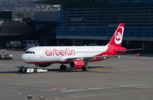 Air Berlin a anulat aproape 100 de zboruri, dupa ce pilotii s-au imbolnavit subit