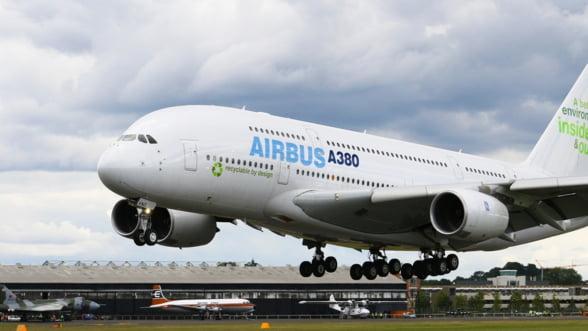 Airbus anunta incetarea productiei modelului A380, cel mai mare avion de pasageri din lume