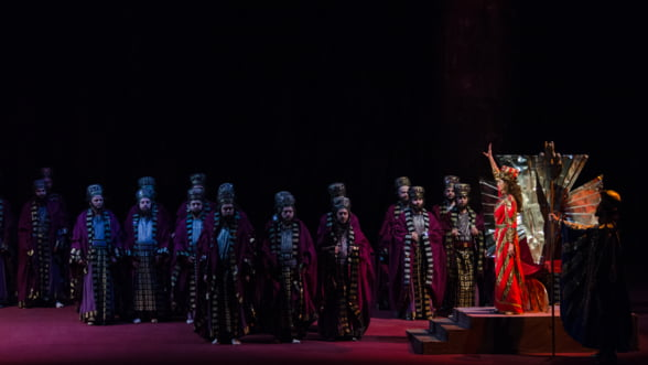 Alberto Veronesi, invitat la pupitrul dirijoral in spectacolul Nabucco de pe scena Operei Nationale Bucuresti
