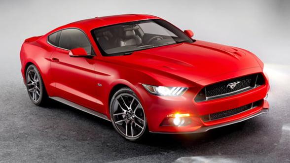 Alege o manichiura marca Ford Mustang, in 2014