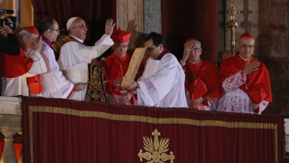 Alegerea papei Francisc a provocat o avalansa pe Twitter: Peste 7 milioane de mesaje trimise