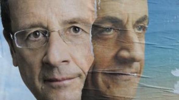 Alegeri Franta: Distanta dintre Hollande si Sarkozy s-a redus la 4%