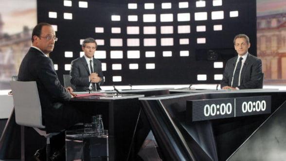 Alegeri Franta: Hollande este favorit, dupa dezbaterea televizata