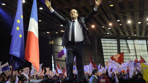 Alegeri Franta 2012: Francois Hollande a castigat primul tur
