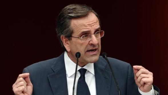 "Alegeri Grecia: Samaras promite sa scoata tara ""din criza si nu din euro"""