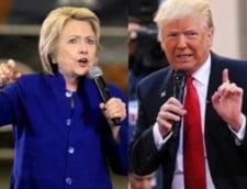 Alegeri in SUA: Clinton se lupta cu lipsa de credibilitate. Trump vrea sa slabeasca