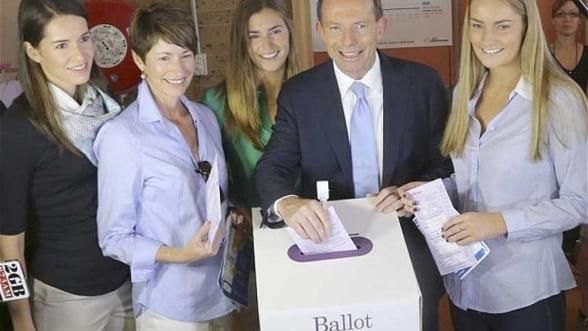 Alegerile din Australia au fost castigate de opozitia conservatoare
