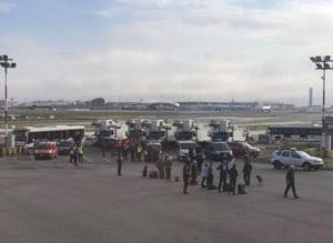 Alerta de securitate in Paris: Pasagerii unui avion au fost evacuati