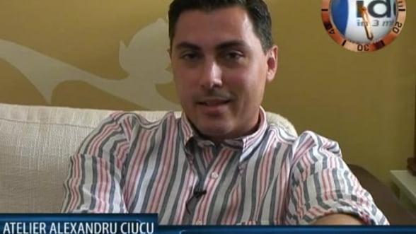 Alexandru Ciucu, designer Atelier Alexandru Ciucu