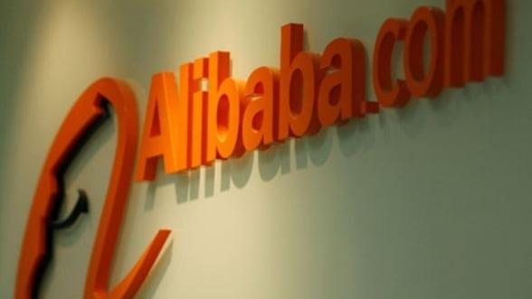 Alibaba ia un credit mai mic, pentru a achizitiona Yahoo!