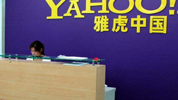 Alibaba vrea sa preia integral Yahoo