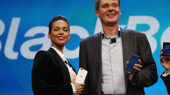 Alicia Keys a fost numita director artistic al BlackBerry