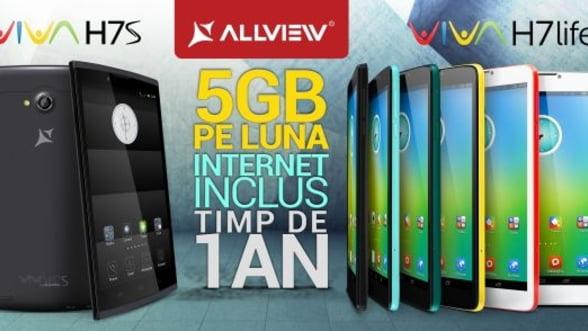 Allview lanseaza doua noi tablete: Viva H7 life si Viva H7 S FOTO