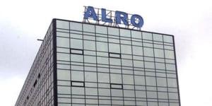 Alro Slatina: profit mai mic de 2,6 ori