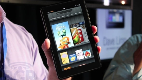 "Amazon ""sparge"" piata tabletelor: Kindle Fire, ajunge din urma iPad"