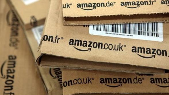 Amazon: vanzari in crestere, profit in scadere