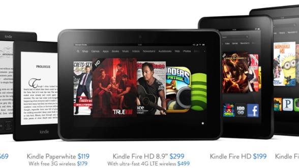 Amazon a inceput ofensiva impotriva Apple: A lansat noile Kindle-uri (Galerie foto)