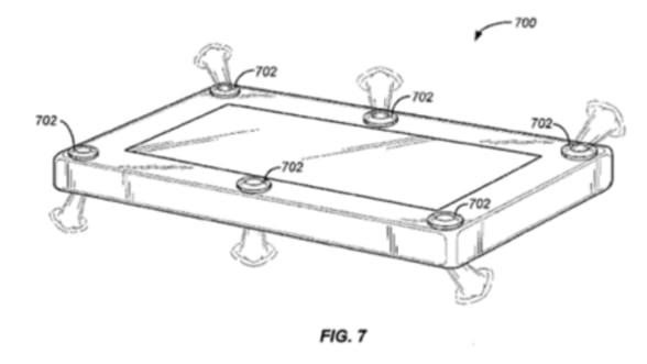 Amazon a primit brevet de inventie pentru airbag la smartphone