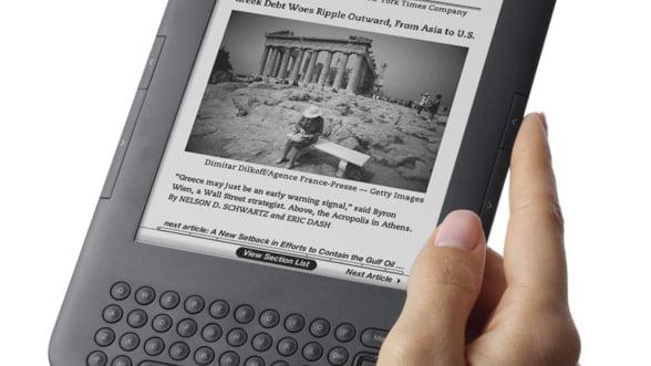 Amazon lanseaza in Europa biblioteca de e-books pentru Kindle