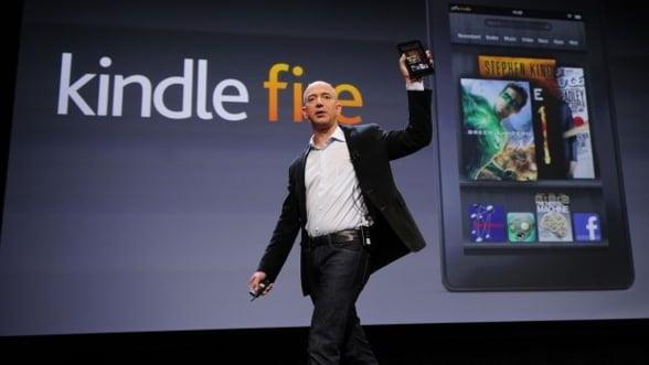 Amazon planuieste sa lanseze Kindle Fire 2