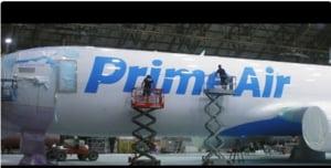 Amazon si-a lansat primul avion dintr-o flota de 40