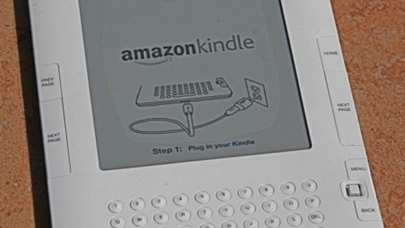 Amazon vinde peste un milion de Kindle-uri pe saptamana