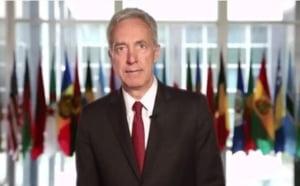 """Ambasadorul SUA sustine """"pe deplin"""" mesajul lui Iohannis impotriva unui premier penal"""