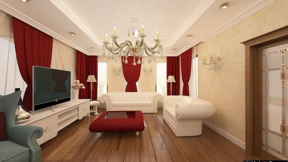 Amenajari interioare 3D - Birou arhitectura de interior Bucuresti   Nobili Design