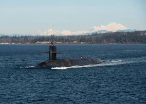Americanii au adus si un submarin nuclear in Peninsula Coreea