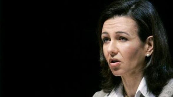 Ana Botin, presedintele Santander, devine cea mai puternica femeie din sectorul bancar european
