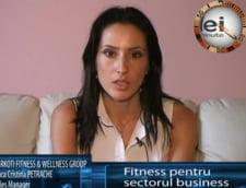 Anca Petrache: fitness pentru sectorul business