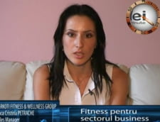 Anca Petrache, sales manager LARKOTI FITNESS & WELLNESS GROUP