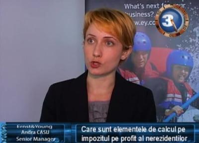 Andra Casu, senior manager Ernst&Young